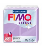 FIMO SOFT COLORES EFECTO PASTILLA DE 56 GRAMOS : FIMO EFFECT:605 LILA PASTEL