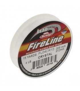 HILO NYLON FIRELINE 0,12 MM (4LB) x 13,5 M CRYSTAL