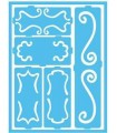 PLANTILLA ADHESIVA DECOART BORDES 15x20 CM
