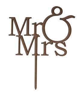 TOPPER MR&MRS DM 21x26 CM
