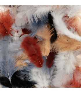 PLUMAS COLORES ARTEMIO MIX NATURAL 10 GRAMOS