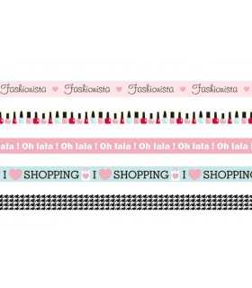 SET MASKING TAPE FASHIONISTA 5x15 MM x5 METROS