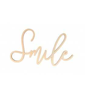 SMILE MADERA 30x16 CM 5 MM GROSOR
