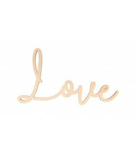 LOVE MADERA 30x16 CM 5 MM GROSOR