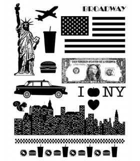 SELLOS TRANSPARENTES ARTEMIO VIAJES NUEVA YORK