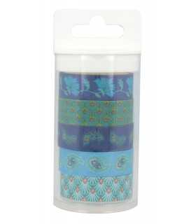 SET 5 WASHI TAPES MY LORD ARTEMIO 15 MM X 5 m
