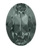 CABUCHÓN OVALADO SWAROVSKI 14 x 10 MM 2 UNIDADES : color:Black Diamond