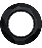 COSMIC RING SWAROVSKI 14 MM : color:Jet (Negro)