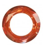 COSMIC RING SWAROVSKI 20 MM 1 UNIDAD : color:Crystal Red Magma