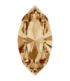 NAVETTE CRISTAL SWAROVSKI 10 x 5 mm 5 UNIDADES : color:Golden Shadow
