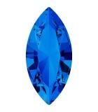 NAVETTE CRISTAL SWAROVSKI 15x7 mm 2 UNIDADES : color:Sapphire