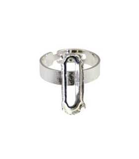 ANILLO ADAPTABLE PLATA GARRA PARA 4161 21x7 MM