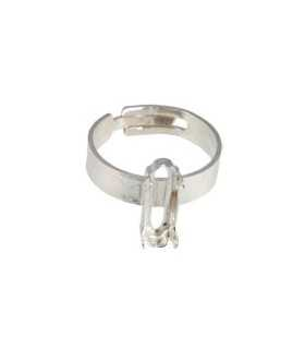 ANILLO ADAPTABLE PLATA GARRA PARA 4161 15x5 MM