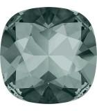 CABUCHÓN DE CRISTAL SWAROVSKI CUADRADO DE 12 MM : Unidades:1 unidad, color:Black Diamond