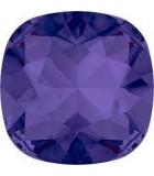 CABUCHÓN DE CRISTAL SWAROVSKI CUADRADO DE 12 MM : Unidades:1 unidad, color:Purple Velvet