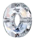 RING BEAD SWAROVSKI 12,5 MM AG. 1 MM 1 UD : color:Cristal AB