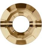 RING BEAD SWAROVSKI 12,5 MM AG. 1 MM 1 UD : color:Golden Shadow