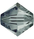TUPI CRISTAL SWAROVSKI COLORES 2,5 mm 50 UNIDADES : color:Black Diamond