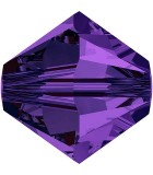 TUPI DE CRISTAL SWAROVSKI COLORES 5 mm 25 UNIDADES : color:Purple Velvet