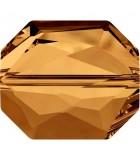 GRAPHIC BEAD SWAROVSKI 18 MM 1 UNIDAD : color:Crystal Copper