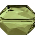 GRAPHIC BEAD SWAROVSKI 18 MM 1 UNIDAD : color:Olivine