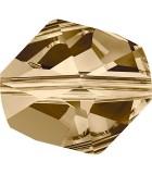 CUENTA CÓSMICA CRISTAL SWAROVSKI 12 MM : Unidades:Envase 2 Unidades, color:Golden Shadow