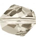 CUENTA CÓSMICA CRISTAL SWAROVSKI 12 MM : Unidades:Envase 2 Unidades, color:Crystal Silver Shade