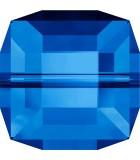CUBO CRISTAL SWAROVSKI 4 mm PRIMERA PARTE : Unidades:Envase 10 Unidades, color:Sapphire