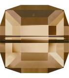 CUBO CRISTAL SWAROVSKI 4 MM SEGUNDA PARTE : Unidades:Envase 10 Unidades, color:Golden Shadow