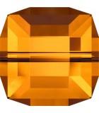 CUBO CRISTAL SWAROVSKI 6 mm. PRIMERA PARTE : Unidades:Envase 5 Unidades, color:Crystal Copper