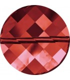 TWIST BEAD SWAROVSKI 14 MM 2 UNIDADES : color:Crystal Red Magma