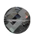 TWIST BEAD SWAROVSKI 18 MM 1 UNIDAD : color:Crystal Silver Night