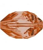 CUENTA CUBIST SWAROVSKI 16 x 10 MM 2 UNIDADES : color:Crystal Copper
