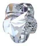CUENTA FLOR CRISTAL SWAROVSKI 8 MM : color:Cristal, Unidades:Envase 5 Unidades