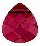 BRIOLETTE PLANO CRISTAL SWAROVSKI 11 x 10 mm : Unidades:Envase 5 Unidades, color:Ruby