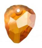 ROCK PENDANT CRISTAL SWAROVSKI 23 MM 1 UNIDAD : color:Crystal Copper