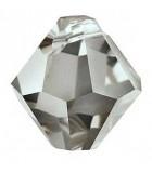 TUPI COLGANTE CRISTAL SWAROVSKI 6 MM : Unidades:Envase 10 Unidades, color:Black Diamond