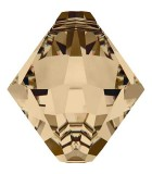 TUPI COLGANTE CRISTAL SWAROVSKI 6 MM : Unidades:Envase 10 Unidades, color:Golden Shadow