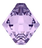 TUPI COLGANTE CRISTAL SWAROVSKI 6 MM : Unidades:Envase 10 Unidades, color:Violeta