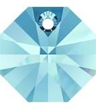 OCTÓGONO COLGANTE SWAROVSKI 8 MM 10 UNIDADES : color:Aquamarine