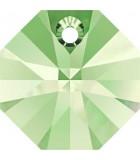 OCTÓGONO COLGANTE SWAROVSKI 8 MM 10 UNIDADES : color:Peridot