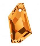 DE-ART PENDANT CRISTAL SWAROVSKI 24 MM 1 UNIDAD : color:Crystal Copper