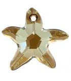 ESTRELLA DE MAR DE CRISTAL SWAROVSKI DE 16 MM : Unidades:Envase 2 Unidades, color:Crystal Bronze Shade