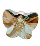 MARIPOSA COLGANTE CRISTAL SWAROVSKI 18 MM 2 UD : color:Crystal Bronze Shade