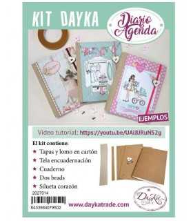 KIT DAYKA TRADE ÁLBUM NOTAS VÍDEO EJEMPLO