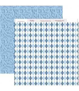 PAPEL SCRAP DAYKA 2 CARAS 30,5x30,5cm COMUNIÓN 246