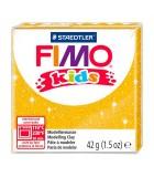 FIMO KIDS STAEDTLER PASTILLA DE 42 GRAMOS : FIMO KIDS:112 DORADO