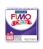 FIMO KIDS STAEDTLER PASTILLA DE 42 GRAMOS : FIMO KIDS:6 VIOLETA