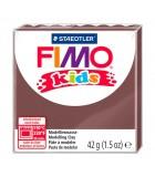 FIMO KIDS STAEDTLER PASTILLA DE 42 GRAMOS : FIMO KIDS:7 MARRÓN, BROWN