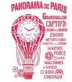 PLANTILLA STAMPERIA 21x297cm PANORAMA DE PARÍS